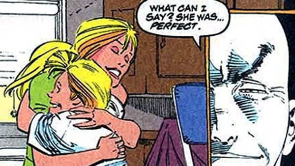 Xavier e mãe